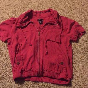 Trendy Short Sleeve Jacket